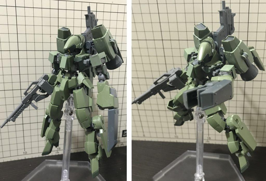 """グレイズ戦闘偵察攻撃型""""エンディミオン"""" アピールショット1"""
