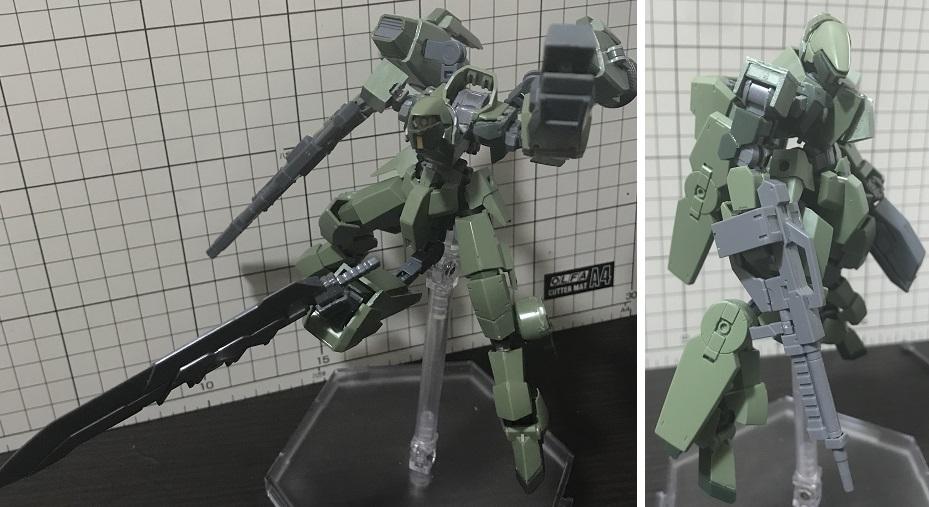 """グレイズ戦闘偵察攻撃型""""エンディミオン"""" アピールショット4"""