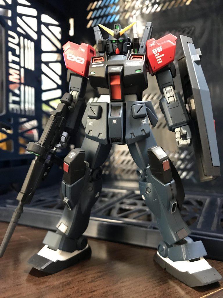 RX-178 GⅢ-C ガンダムMk-Ⅱシュバルツニヒツ アピールショット3