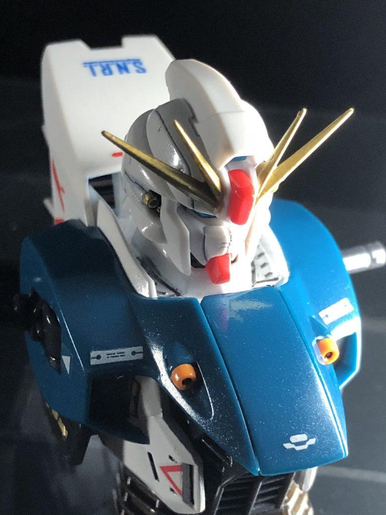 F91 ガンダム2.0 制作工程4