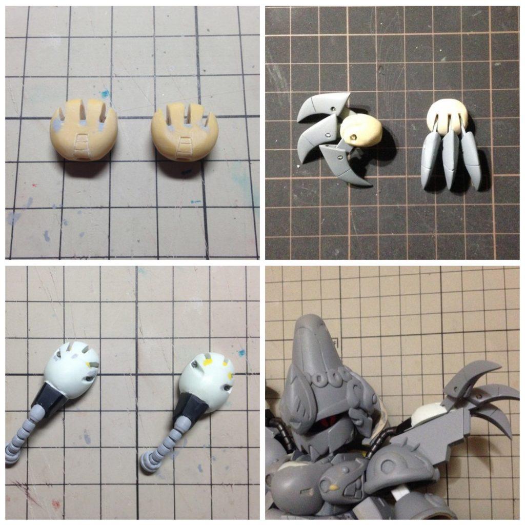 ZCX-003Pジ・O 制作工程6