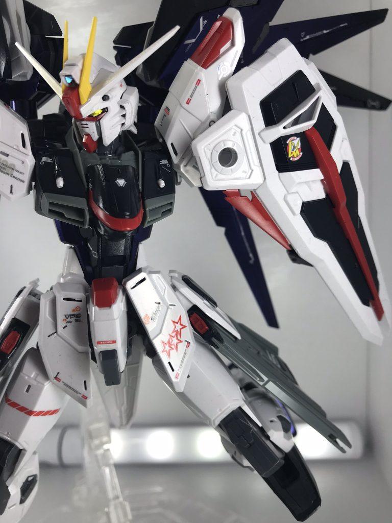 ★電撃ホビー掲載★ MG フリーダムガンダム ver.2.0 オリジナルカラーリング アピールショット6