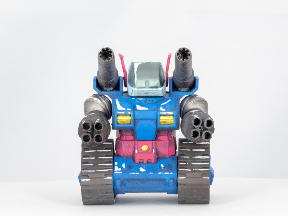 SDガンタンク(イラスト風) アピールショット1