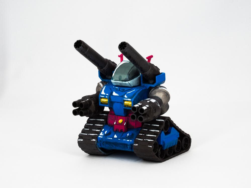 SDガンタンク(イラスト風) アピールショット2