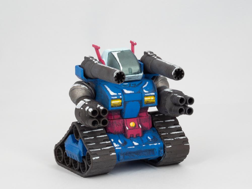 SDガンタンク(イラスト風) アピールショット3