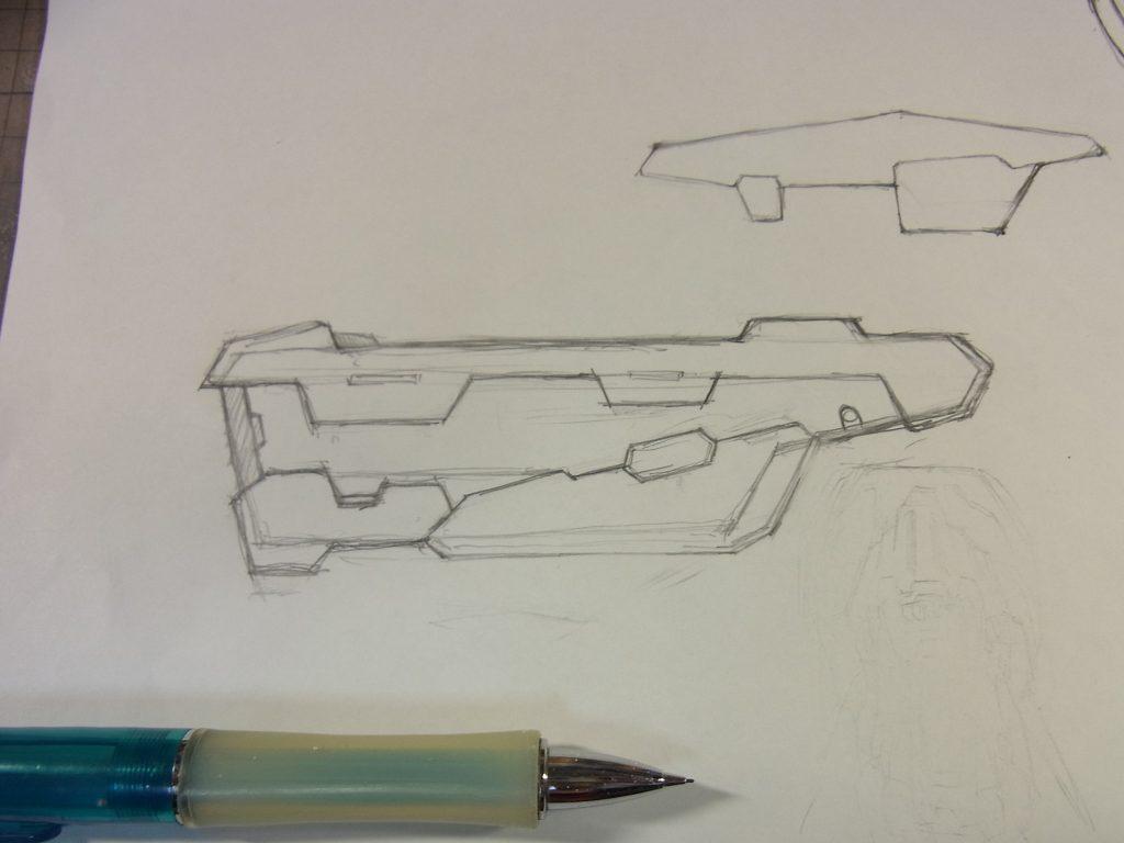 グレートバスターガンダム 制作工程1