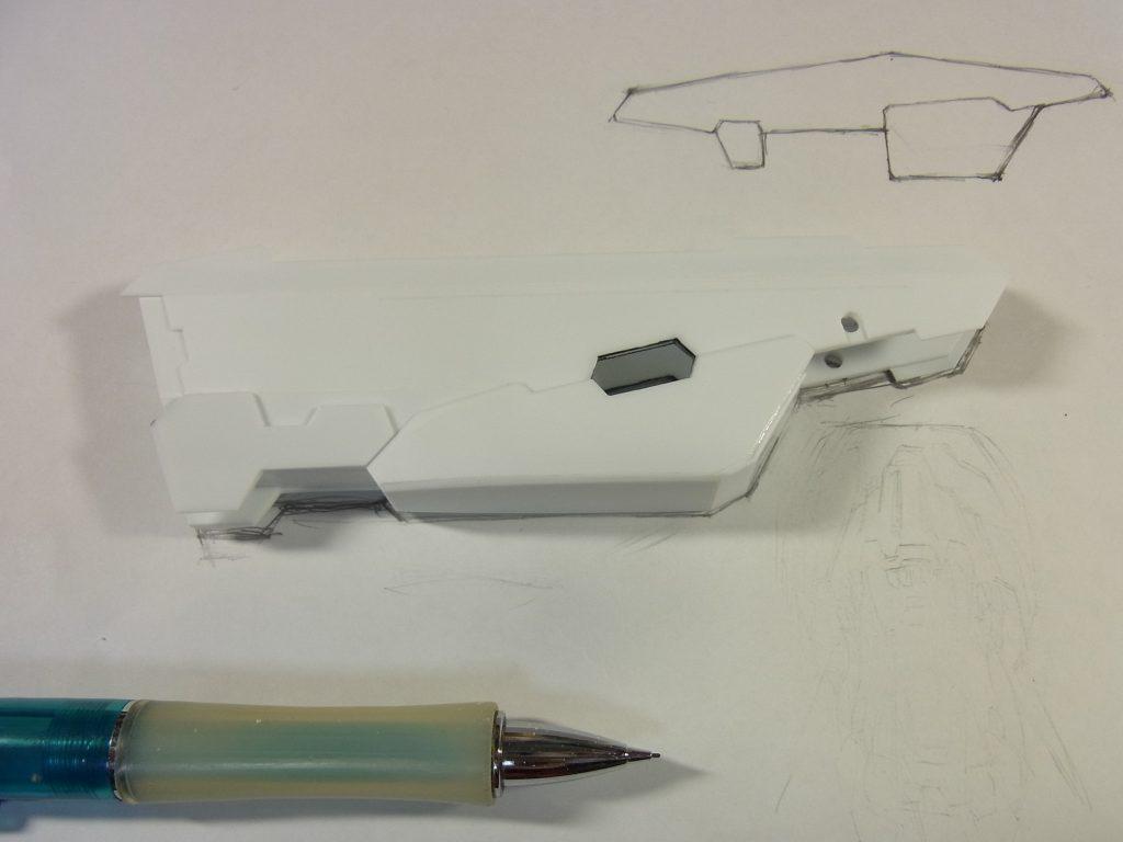 グレートバスターガンダム 制作工程2