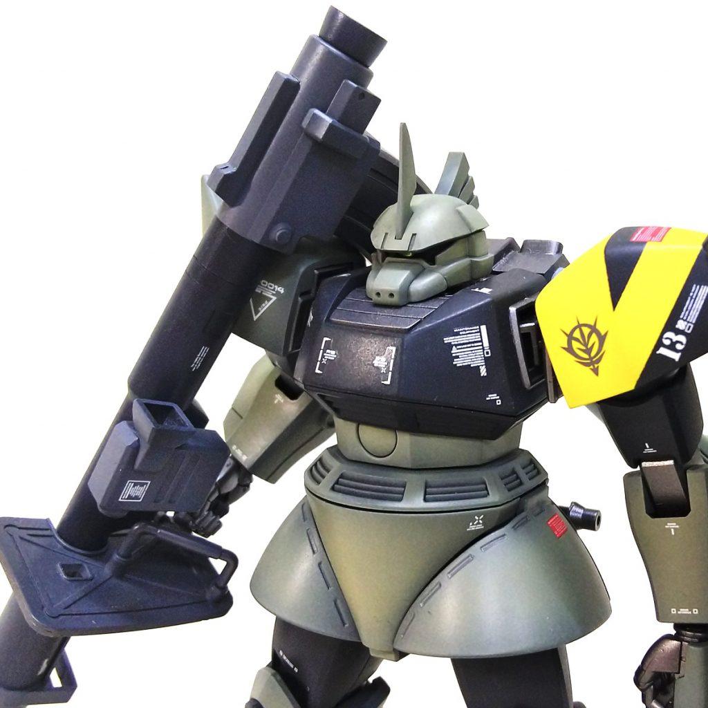 ゲルググ MS14 MFK Adler  Yellow 13 制作工程2