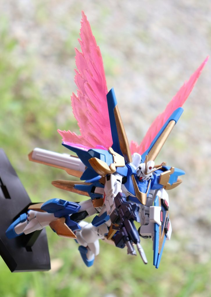 HGUCアサルトバスター、光の翼(´ω`) アピールショット2