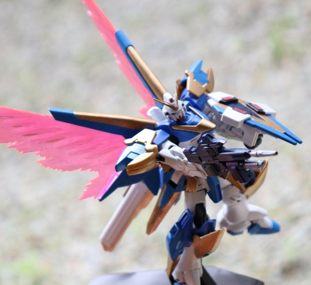 HGUCアサルトバスター、光の翼(´ω`) アピールショット3