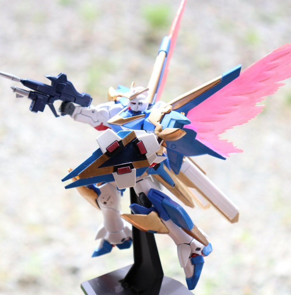 HGUCアサルトバスター、光の翼(´ω`) アピールショット4
