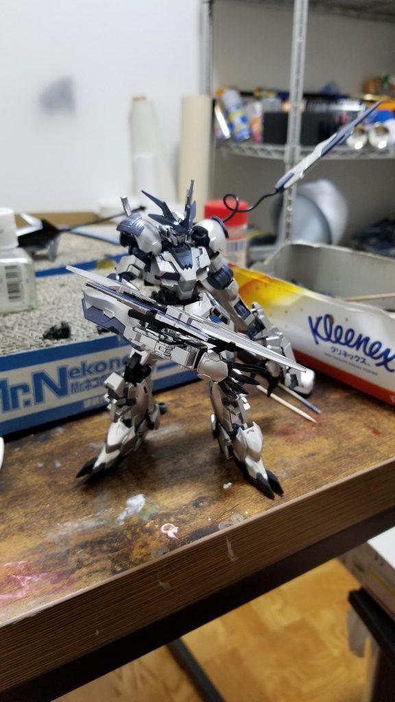 RX-0-4 ユニコーンガンダム4号機 フェンリル アピールショット3