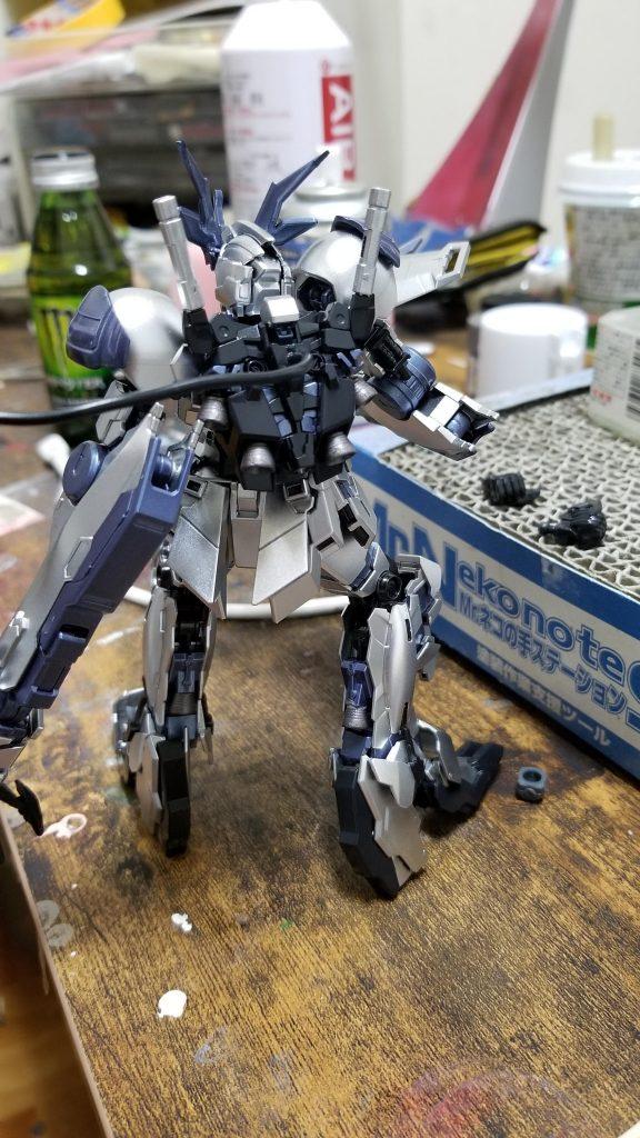 RX-0-4 ユニコーンガンダム4号機 フェンリル アピールショット4