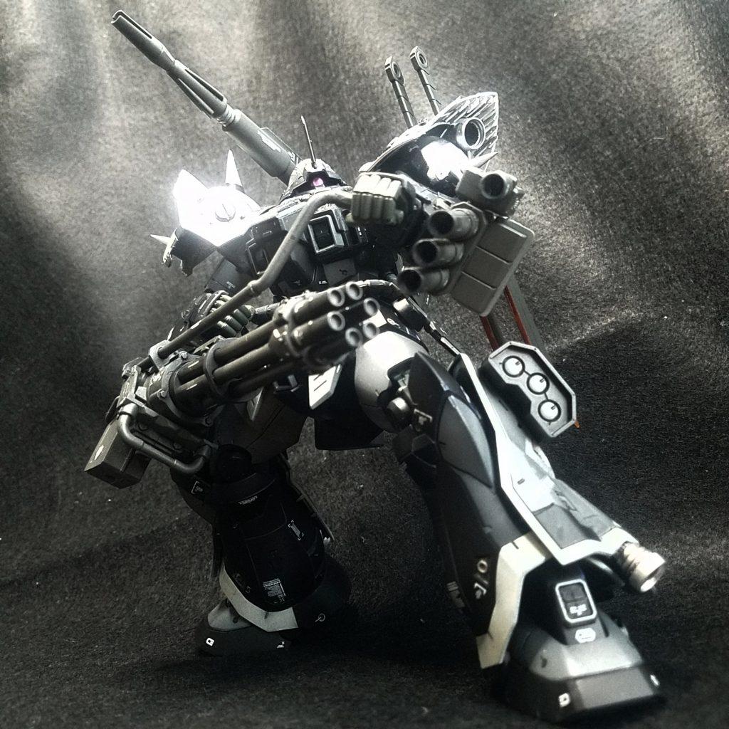 黒騎士 制作工程2