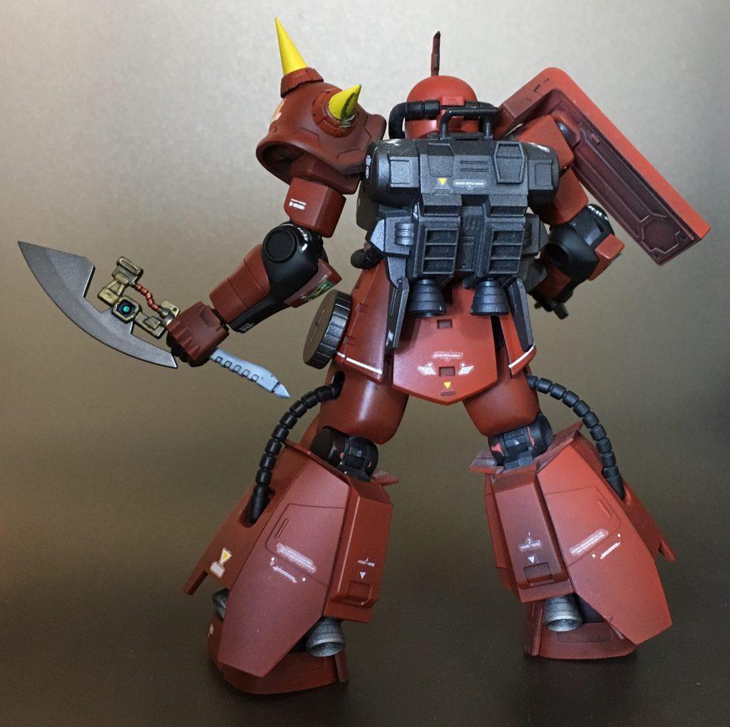ジョニーライデン少佐専用高機動型ザク アピールショット3