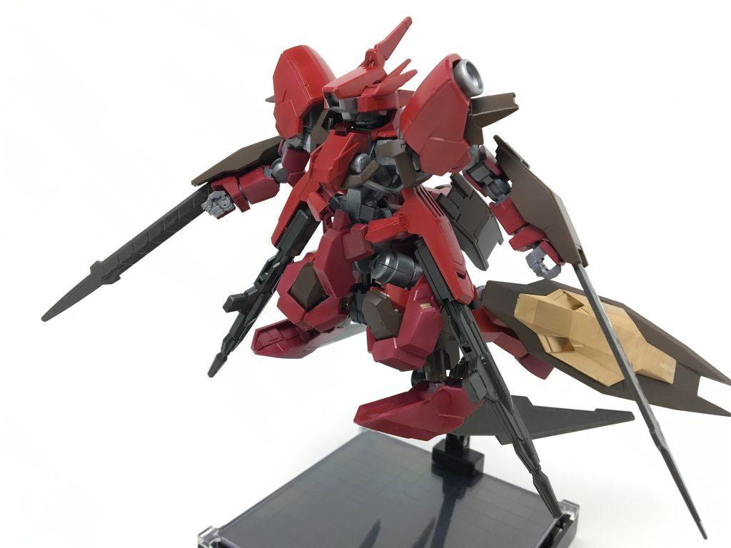 グレイズ改改 焔星号 アピールショット3