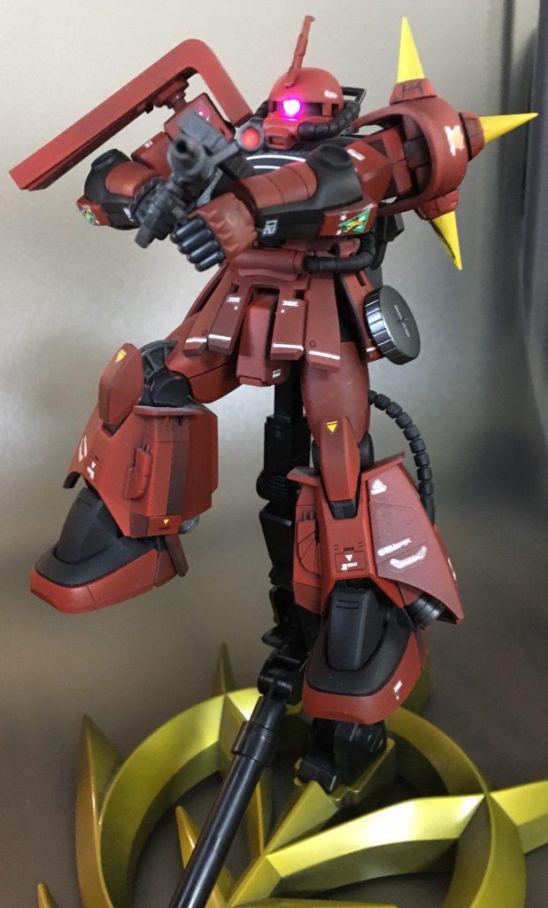 ジョニーライデン少佐専用高機動型ザク アピールショット5