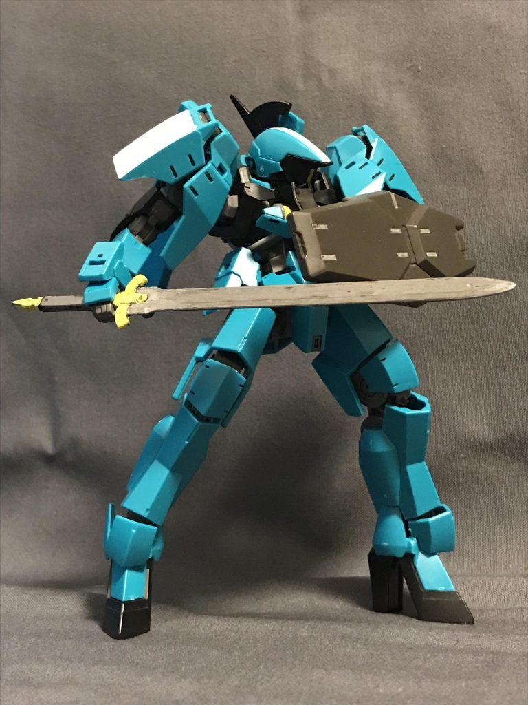グレイズリッター(カルタ隊所属機) アピールショット3