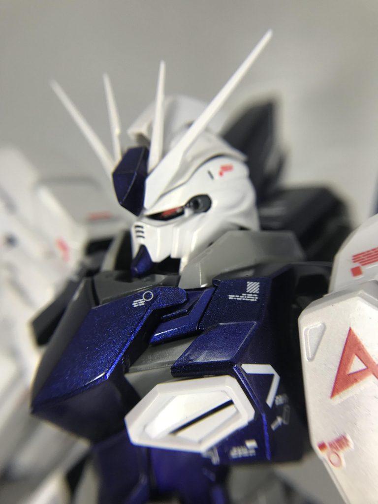 MG シナンジュ・スタイン オリジナル仕様、パール、偏光塗装(アムロ専用機風)