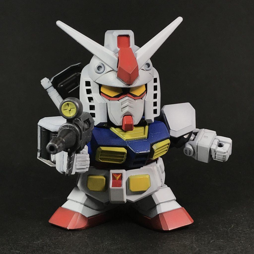 BB戦士ガンダム(黒立ち上げ) アピールショット1