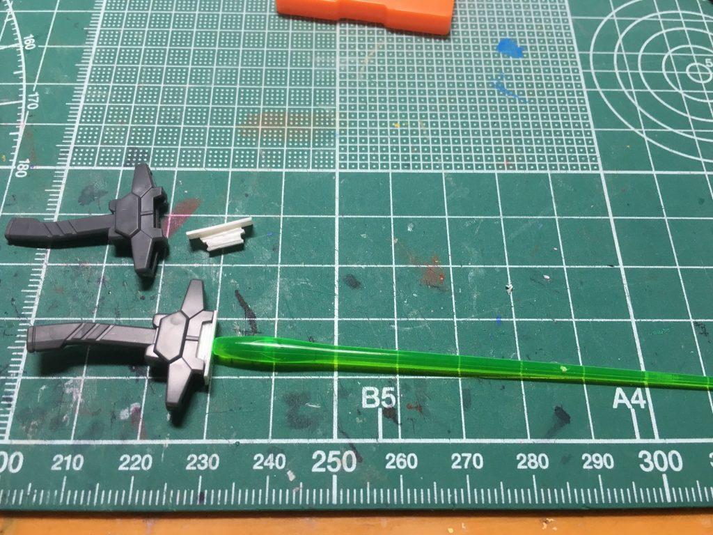 ウイングガンダムゼロアルティメットフェーダー 制作工程1