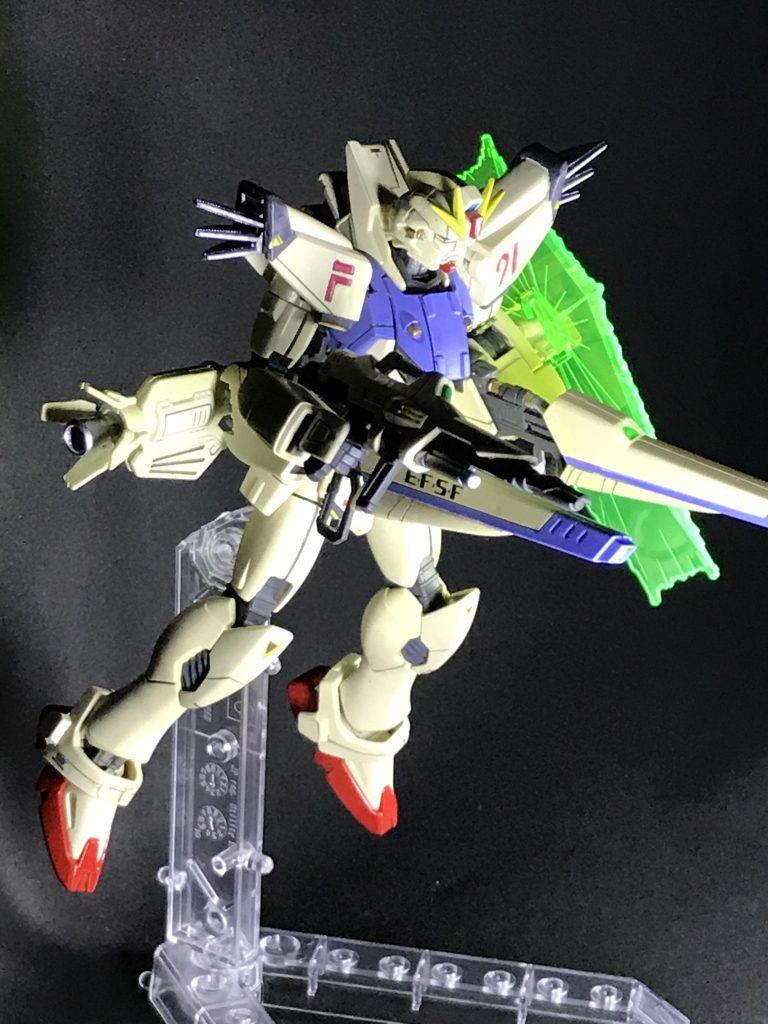 HG F91 制作工程1