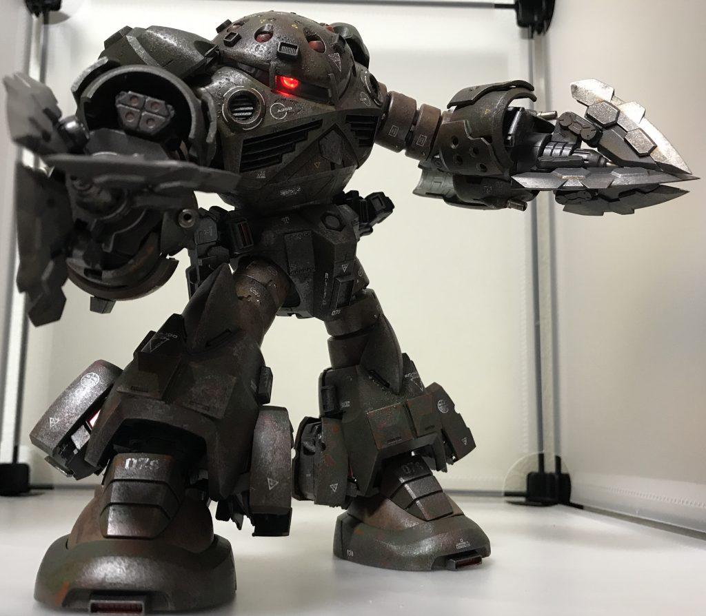 ズゴック改(陸戦強化型) アピールショット8