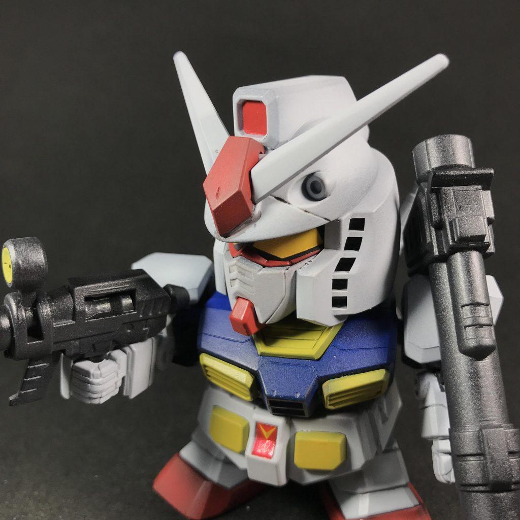 BB戦士ガンダム(黒立ち上げ) アピールショット3