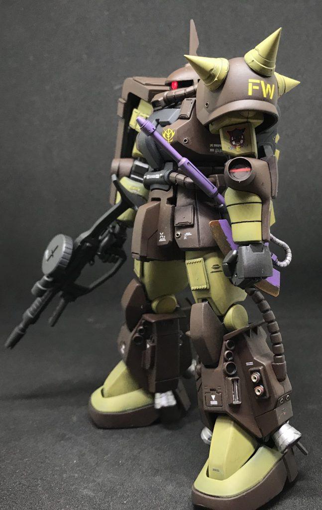 マサヤ・ナカガワ専用ザク アピールショット2