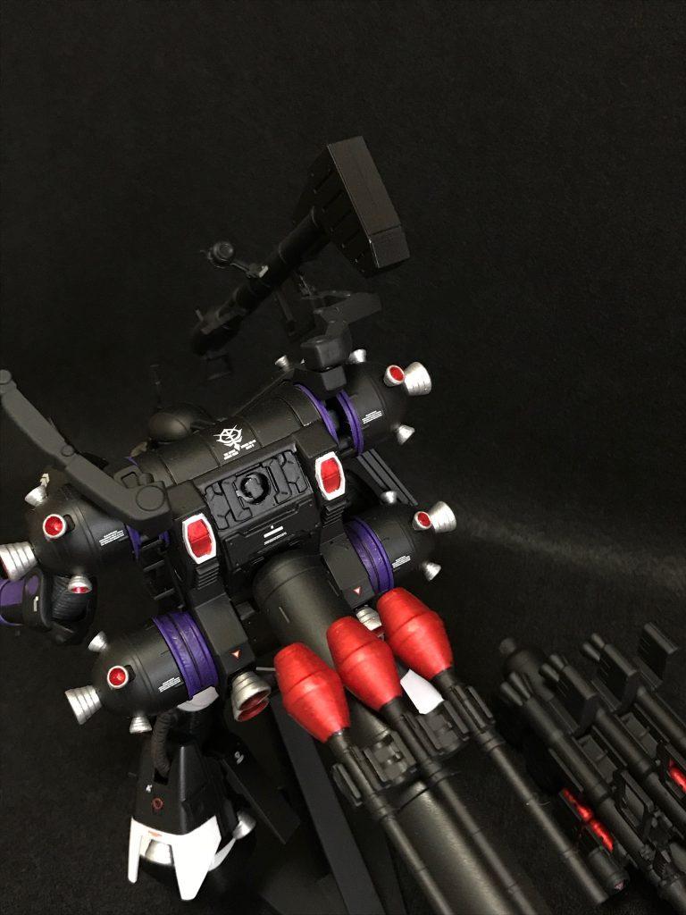 HG 1/144 黒い三連星仕様 サイコザク 制作工程3