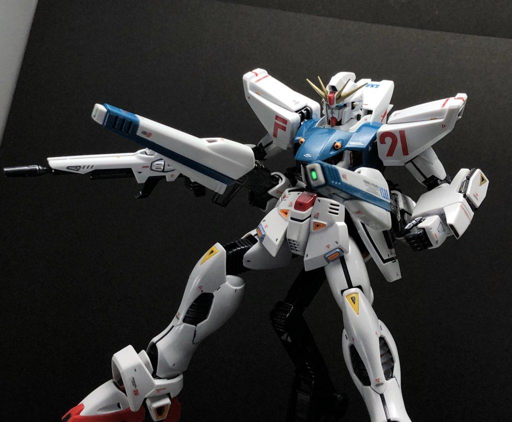 F91 ガンダム2.0 アピールショット4