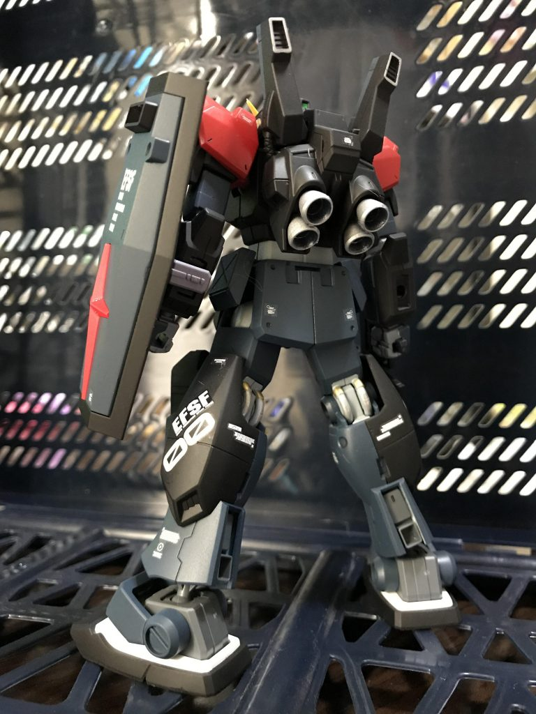 RX-178 GⅢ-C ガンダムMk-Ⅱシュバルツニヒツ アピールショット2