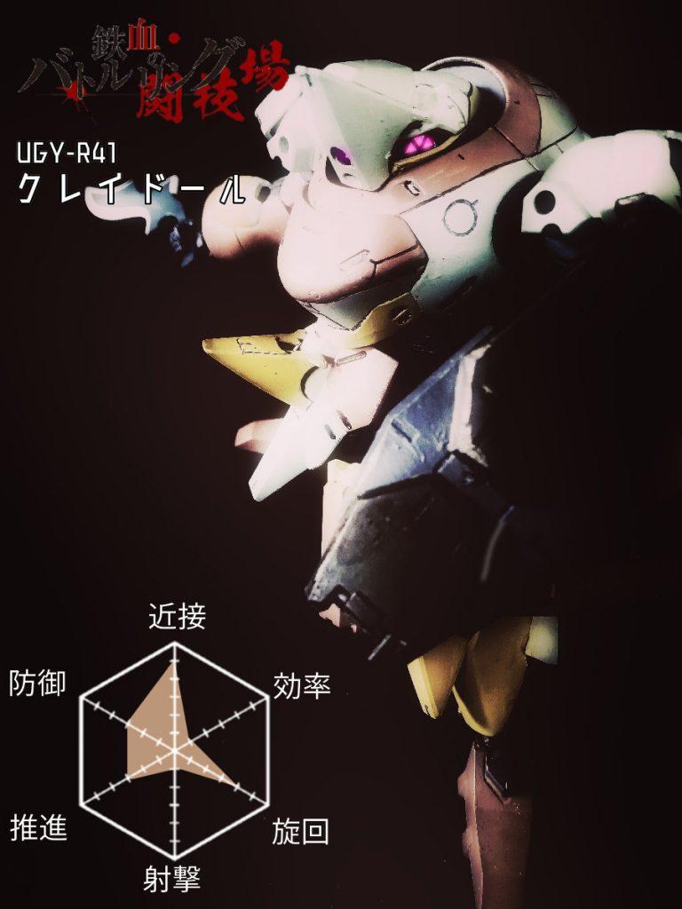 UGY-R41クレイドール アピールショット5
