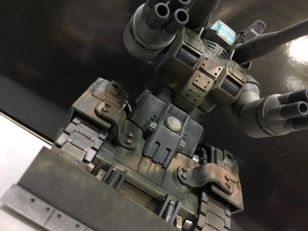 ガンタンク現地改修型 アピールショット1
