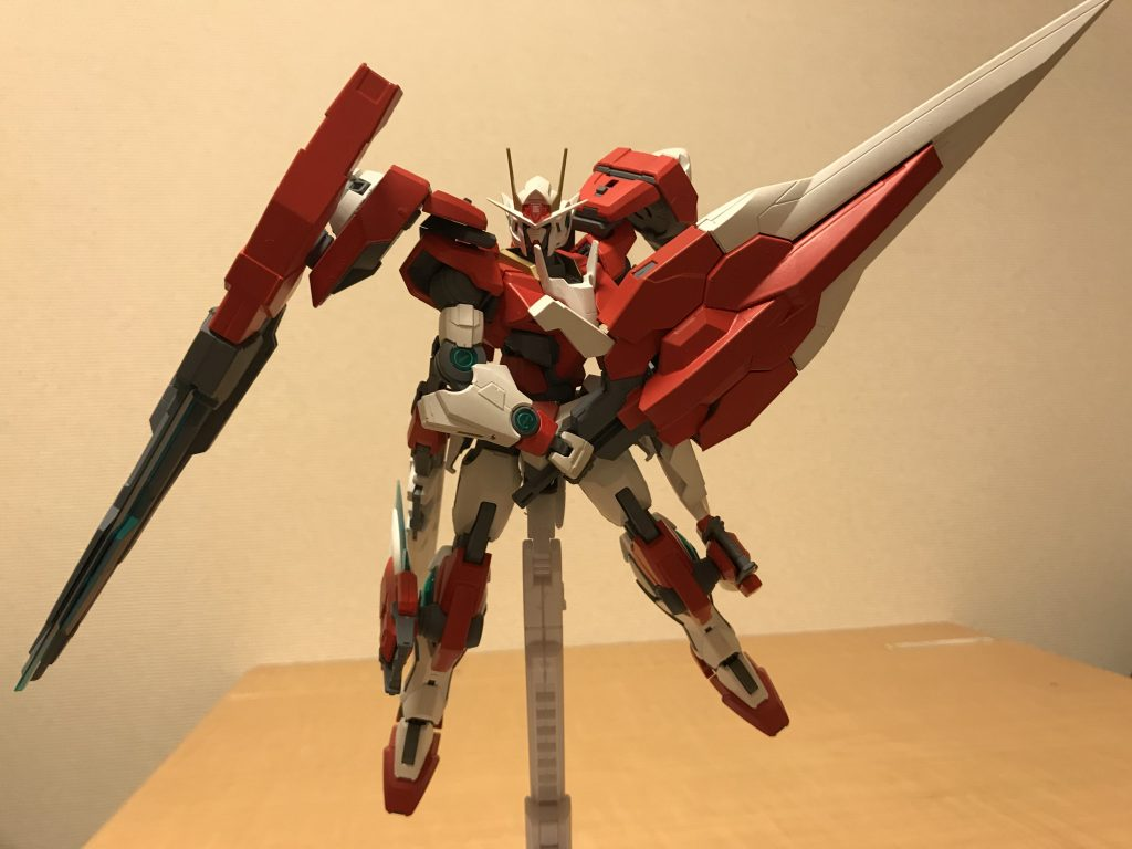 GNバスターソードⅡ もう一つの大型武装 剣として使う他にシールドとしても使用可能
