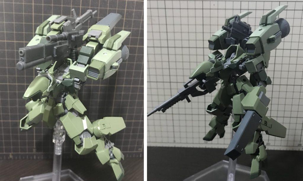 """グレイズ戦闘偵察攻撃型""""エンディミオン"""" アピールショット2"""