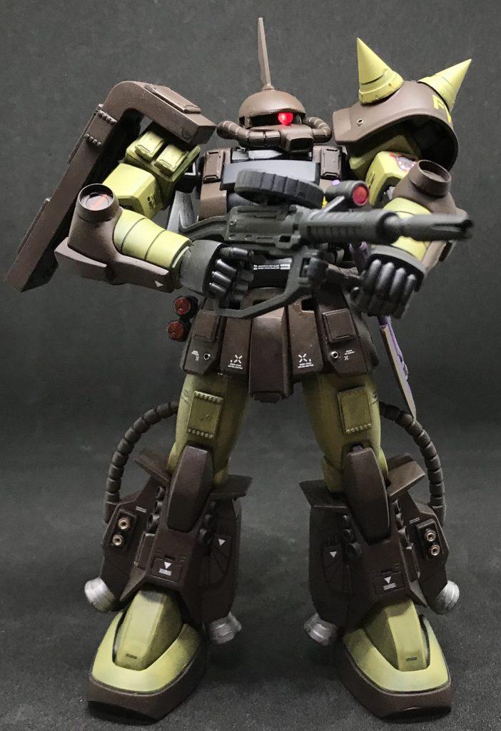 マサヤ・ナカガワ専用ザク アピールショット6
