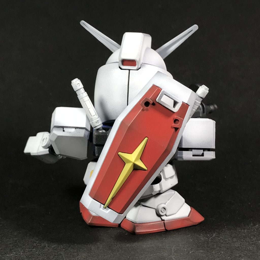 BB戦士ガンダム(黒立ち上げ) アピールショット2