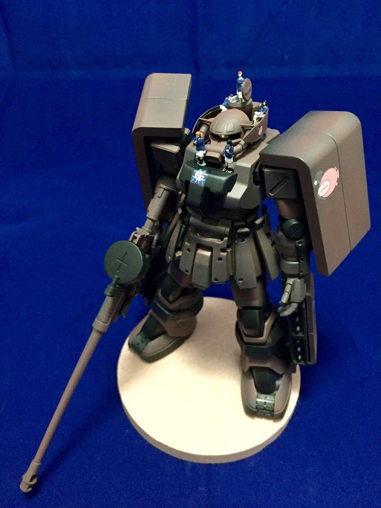 大洗女子ザクF2改H型(戦車道ガンプラ) アピールショット1