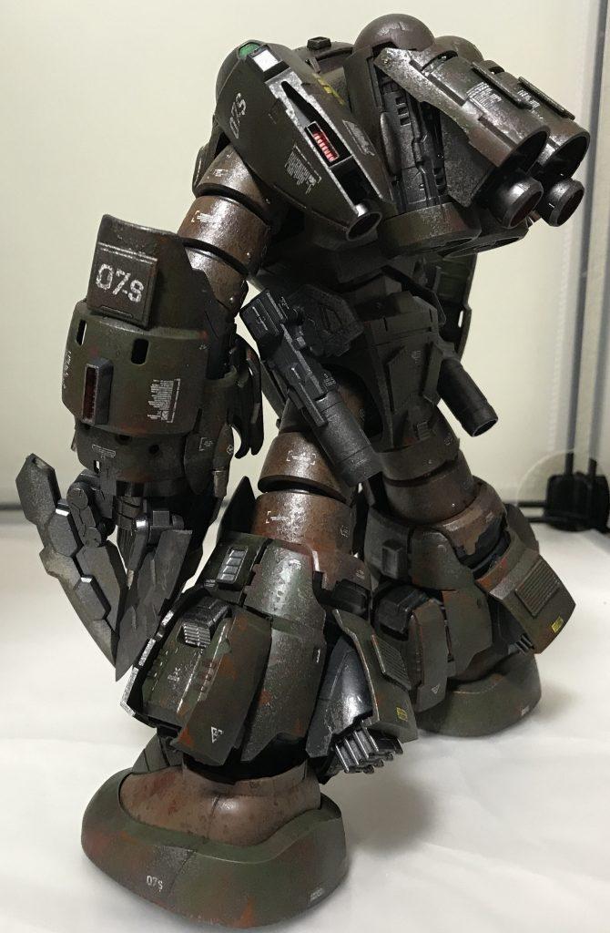 ズゴック改(陸戦強化型) アピールショット4