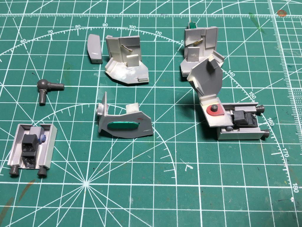 ストライクガンダム セカンドギアバリエーション 制作工程2