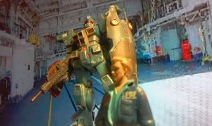 慌てず慎重に急げ!(サウス・バニング大尉談) ジム・カスタム 改 バニング大尉専用試作機