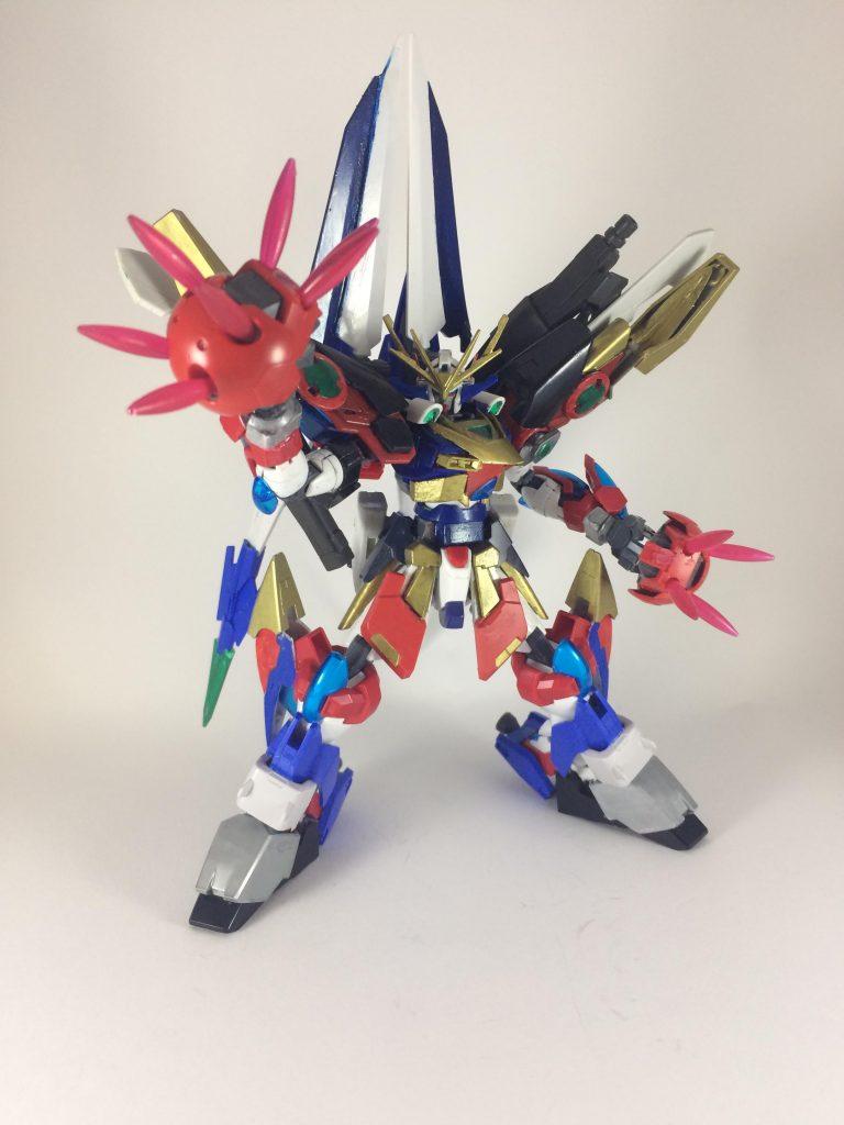 スーパーロボットガンプラ アピールショット4