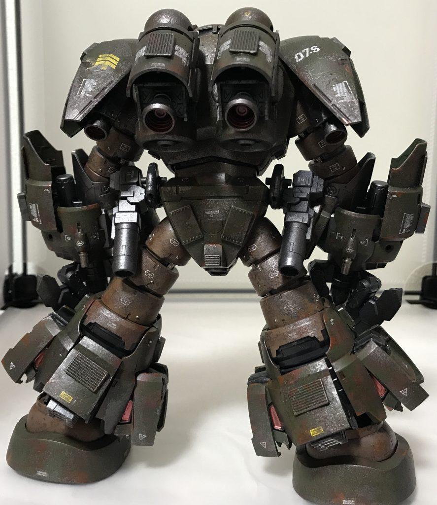 ズゴック改(陸戦強化型) アピールショット3