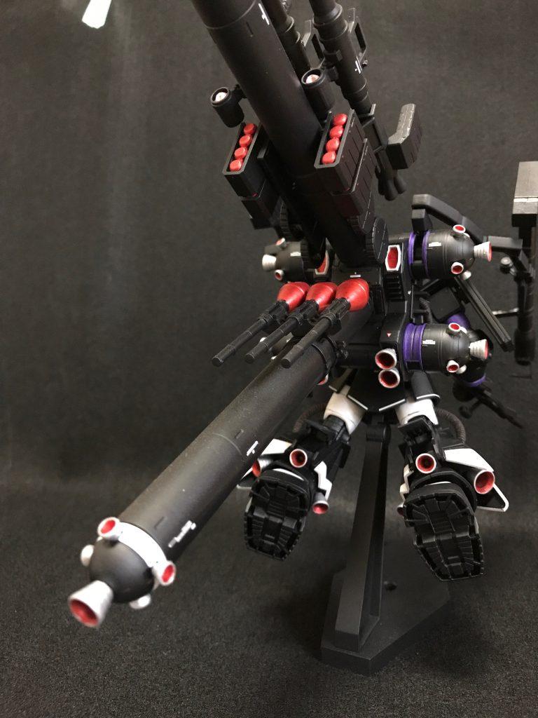 HG 1/144 黒い三連星仕様 サイコザク 制作工程1