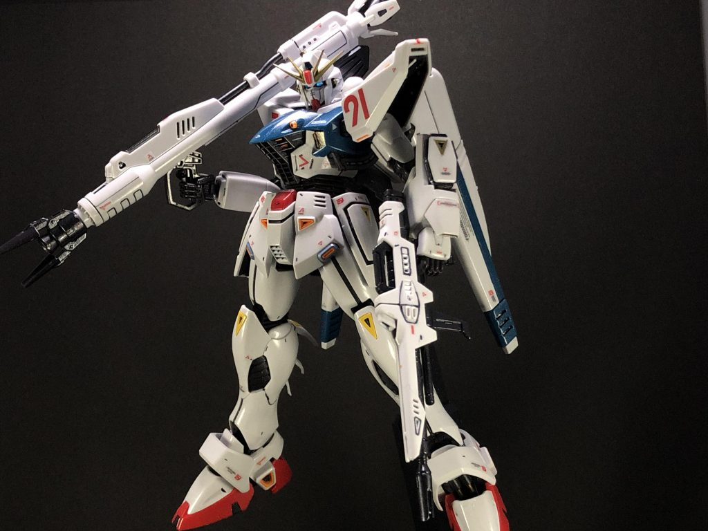 F91 ガンダム2.0 アピールショット1