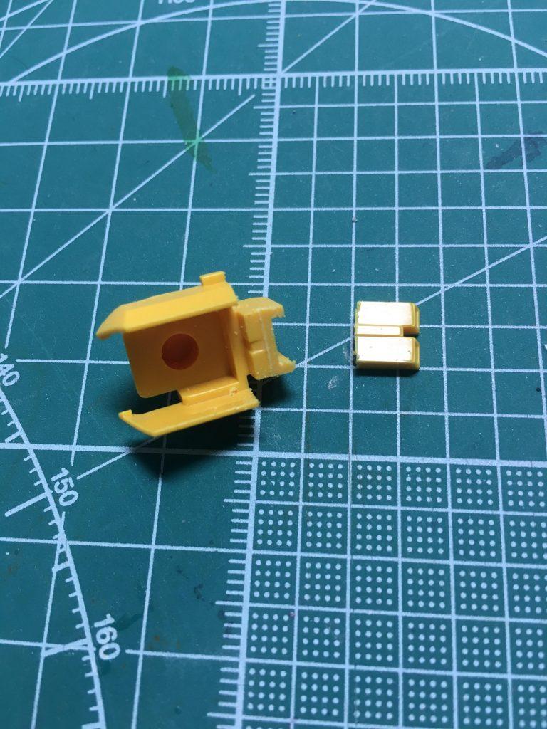 ライトニングZガンダム・プラクティカル 制作工程2
