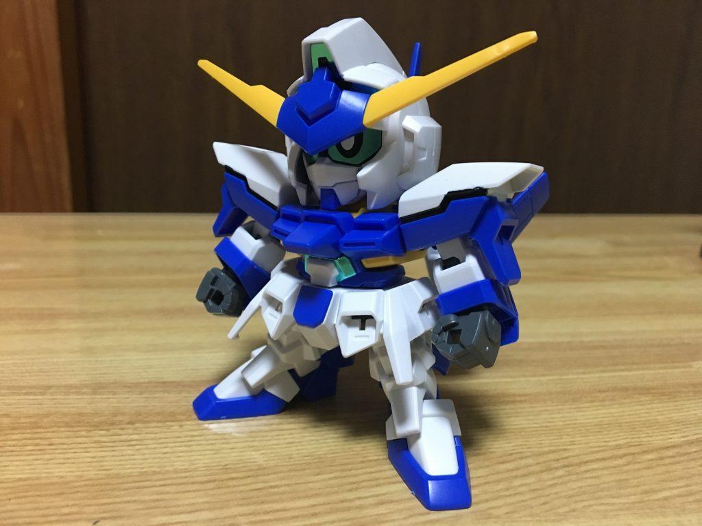 ガンダムFX-蛮-(ver.SD) 制作工程1