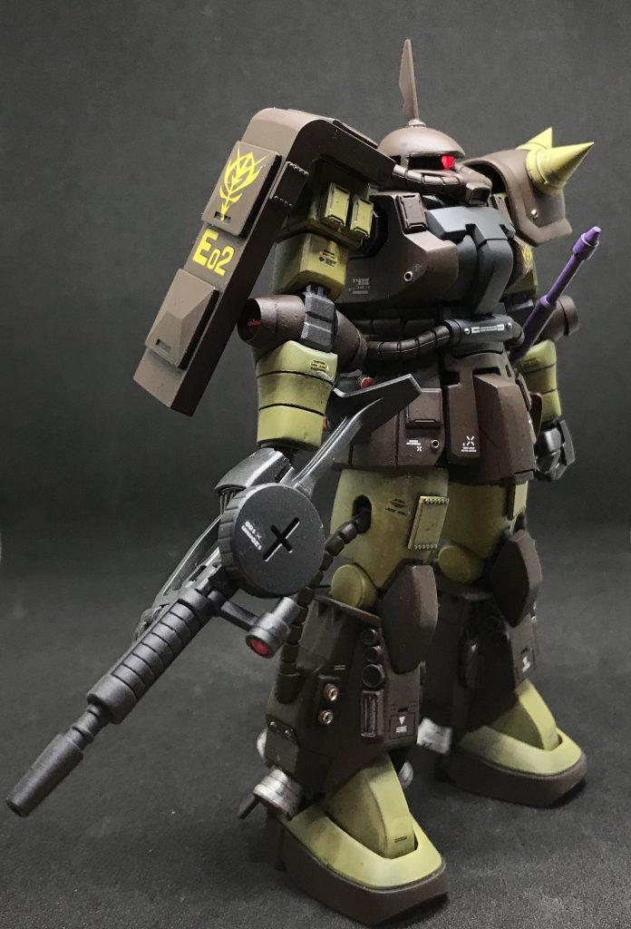 マサヤ・ナカガワ専用ザク アピールショット4