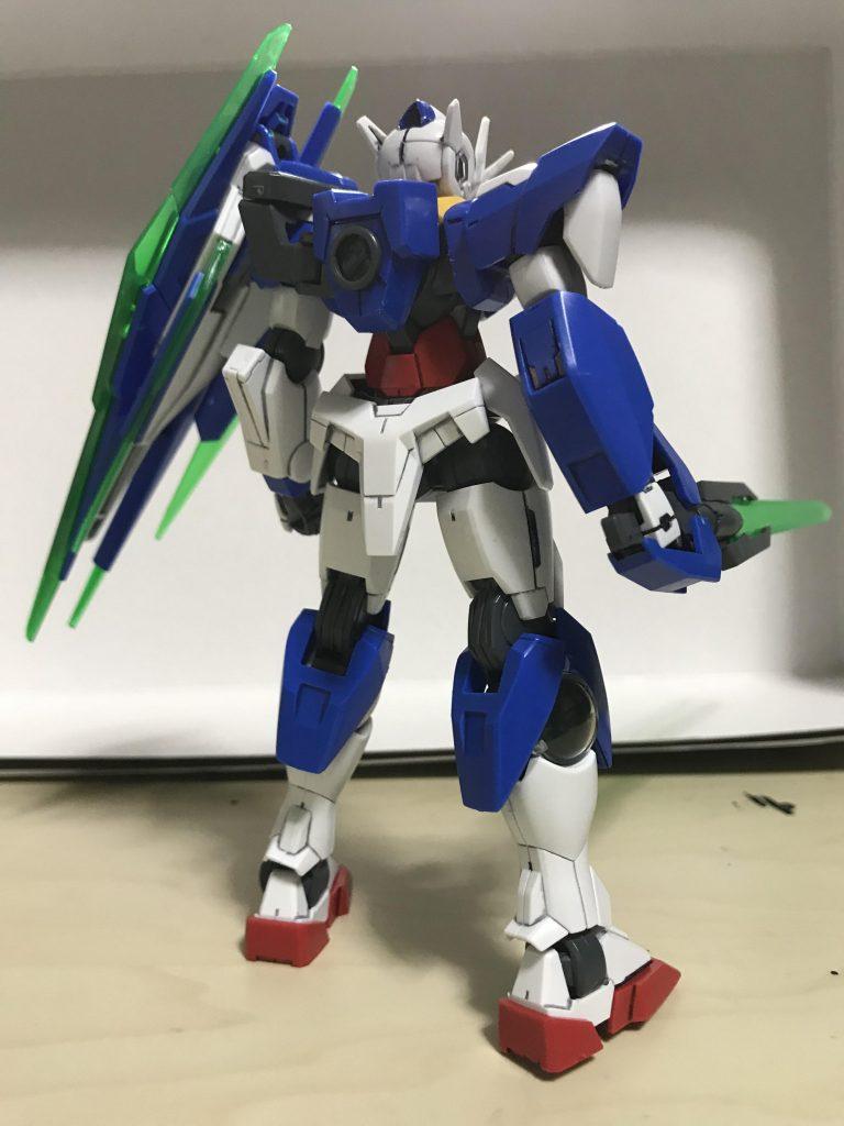 HG00クアンタ アピールショット2